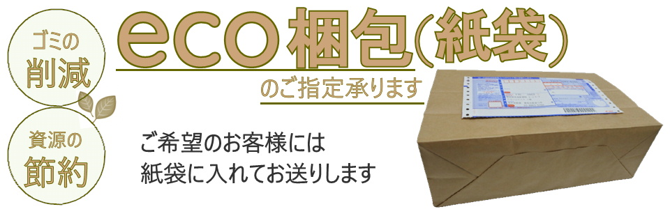 eco梱包(紙袋)